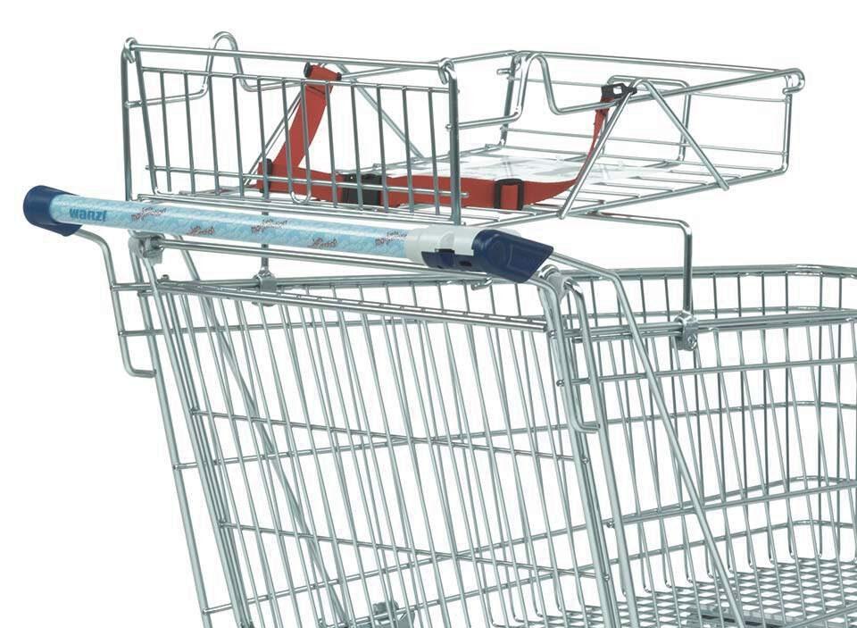 čištění nákupních vozíků