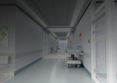 čištění nemocnice dezinfekcí bacoban