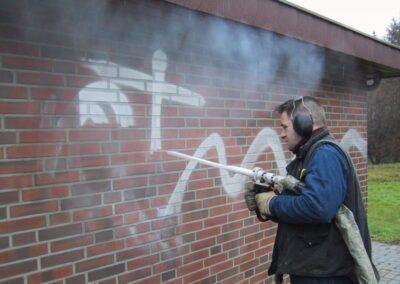 čištění graffity