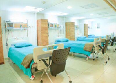nemocnice lůžková část