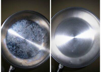 čištění nerez oceli