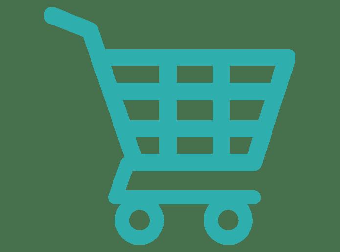 ikona nákupní vozík
