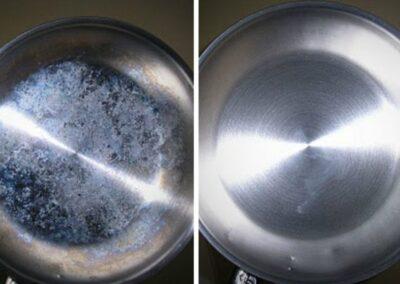 čištění nerezové oceli porovnání