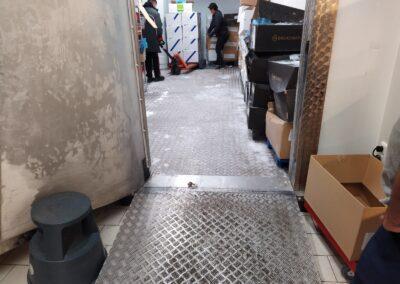 mrazící box příprava čištění