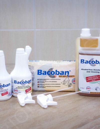 Řada Bacoban dezinfekce